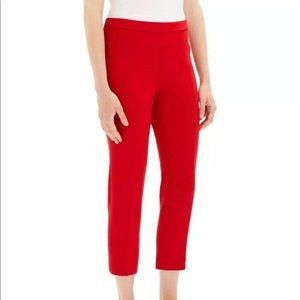 NWT Theory Basic PullOn Crepe Crop Pants Size 0
